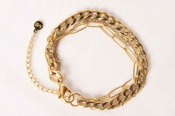 armband goud 3-1 rond madhura bags