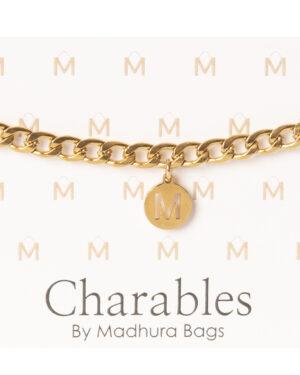 elelegance armbanden met letter goud