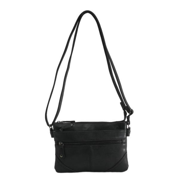 Martinique schoudertasje zwart voor