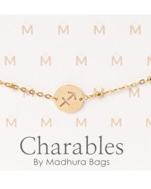 boogschutter goud armbandje madhura bags