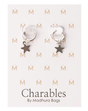 925 sterling zilveren sterren charables oorbellen