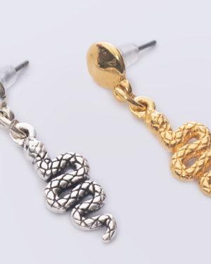 earpin slang goud en zilver madhura bags