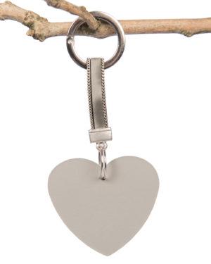 tassenhanger hart luxe grijs madhura bags