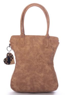 madhura bags camel dames handtas met tashanger