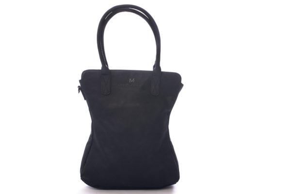 Madhurika Veraart met shopper curvy classic grey