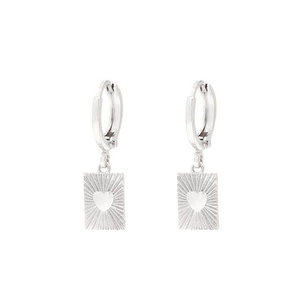 love earrings madhura bags zilver love