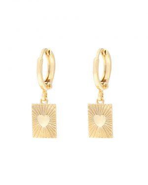 love earrings goud madhura bags