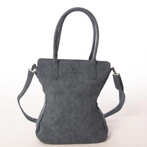 Shopper damestas met schouderhengsel donkerblauw
