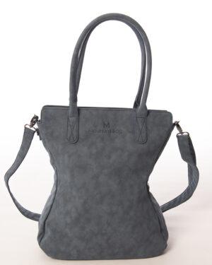 shopper curvy classic met schouderhenmgsel voorkant madhura bags